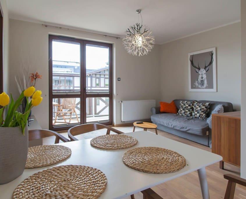 Apartament z 2 sypialniami - Rezydencja Park Mielno