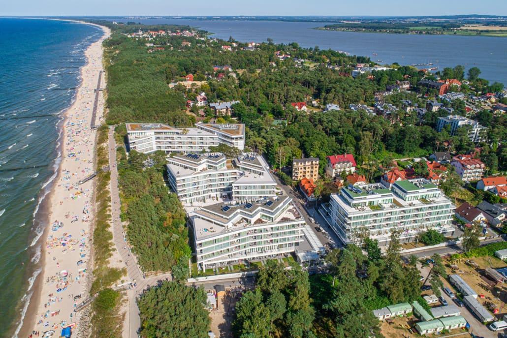 Dune Mielno Apartamenty z widokiem na morze