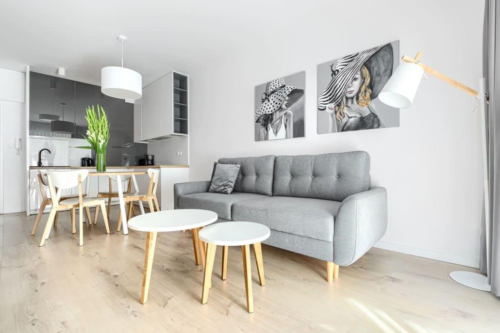 Apartamenty Mielno z aneksem kuchennym O2 Olimpijska 2 Mielno