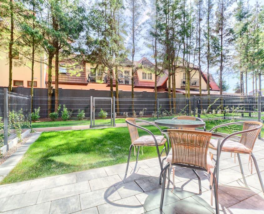 Apartamenty z ogródkiem i tarasemMielno O2 Olimpijska 2 Mielno