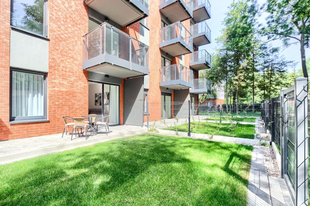 Apartamenty Mielno z ogódkiem O2 Olimpijska 2 Mielno