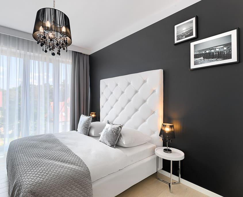 Apartament w Mielnie - jeden pokój