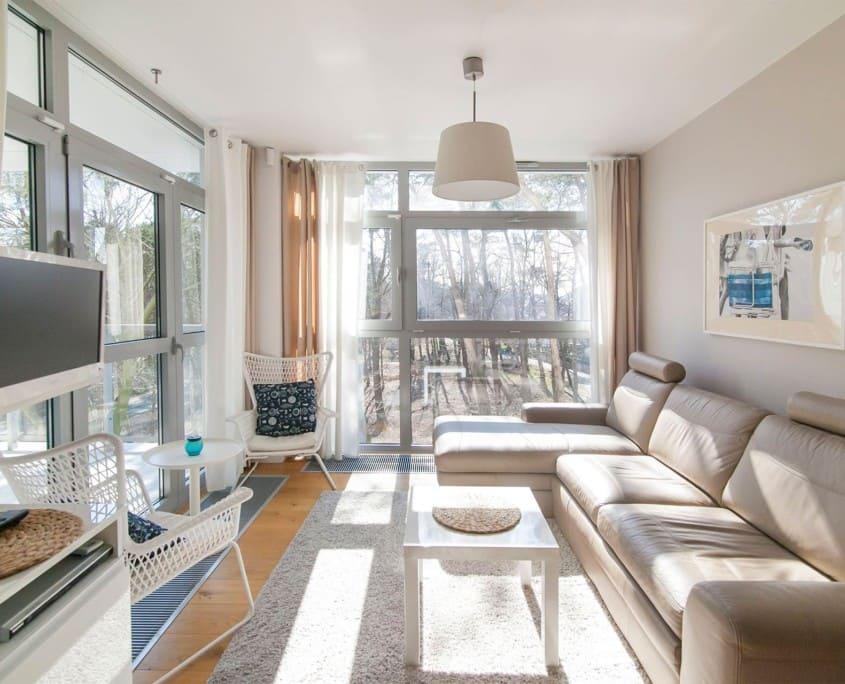 Dune Mielno - apartament z 2 sypialniami