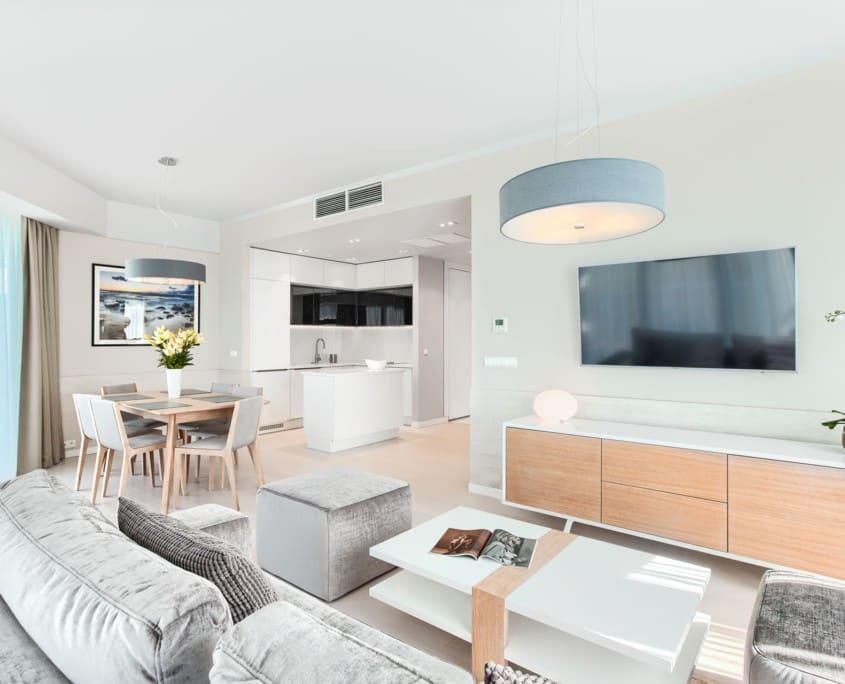 Apartament z 2 sypialniami w Dune Mielno