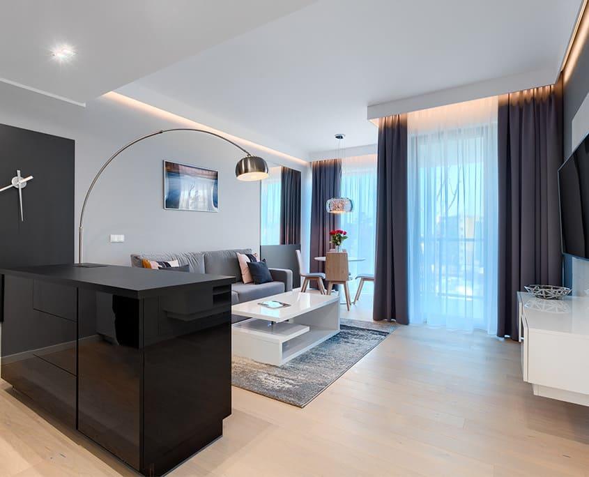 2 pokojowe apartamenty w Mielnie