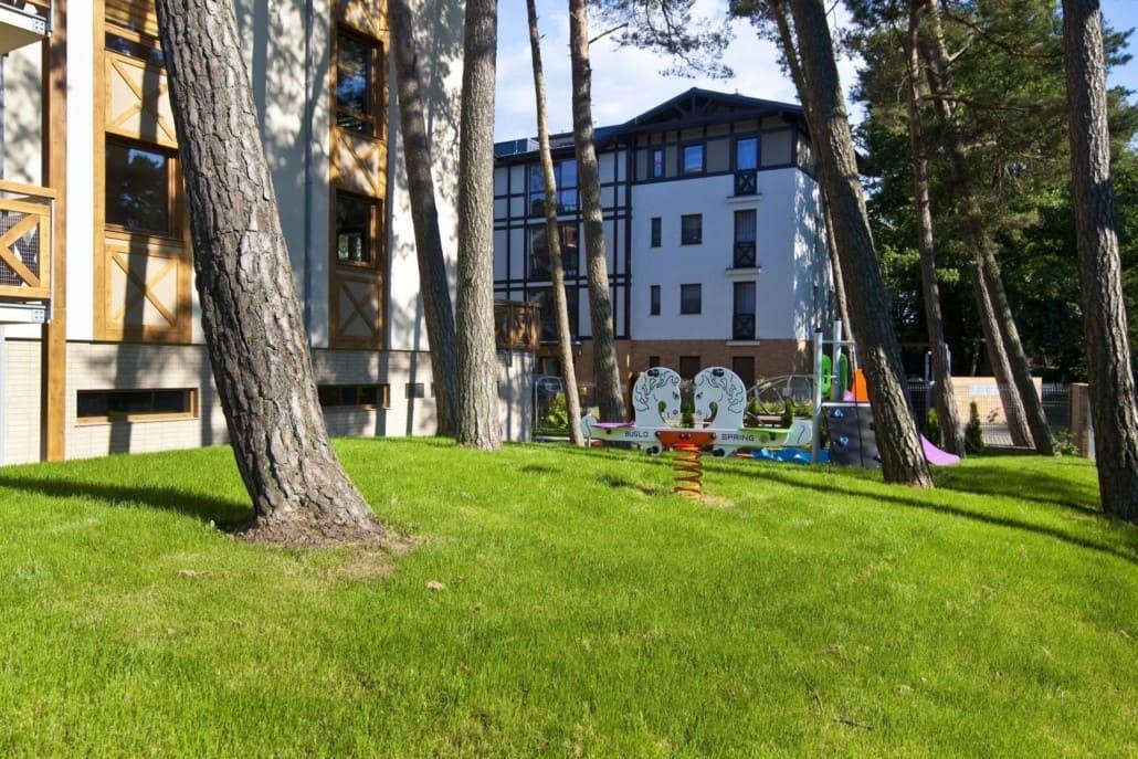 Apartamenty Rezydencja Park Mielno