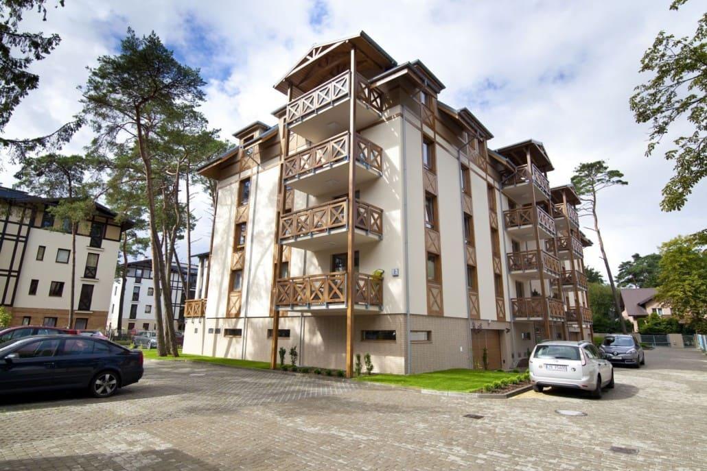 Apartamenty Mielno Rezydencja Park