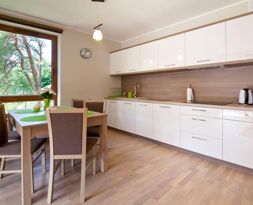apartamenty Mielno z aneksem kuchennym